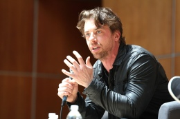 Actor Christian Borle at Patrick Wilson & Friends, MFF14