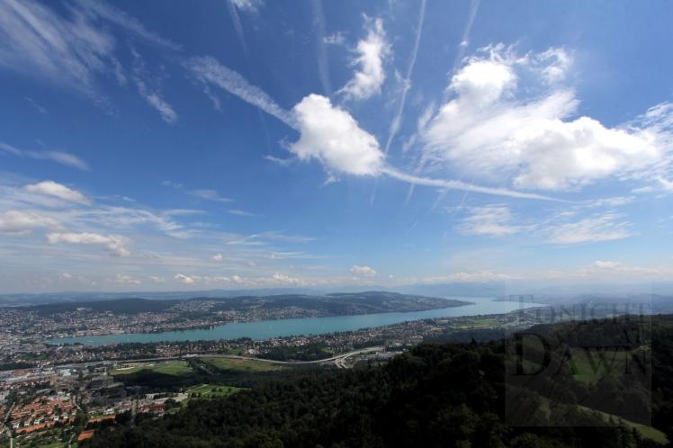 View of Zurich from Uteilberg