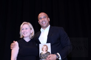 Senators Gillibrand and Booker