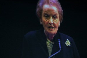 Former Secretary of State Madeline Albright at the NJ PAC