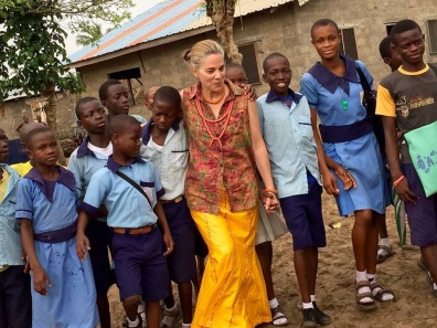 Dena Grushkin, Founder of the Nigerian School Project & Executive Producer
