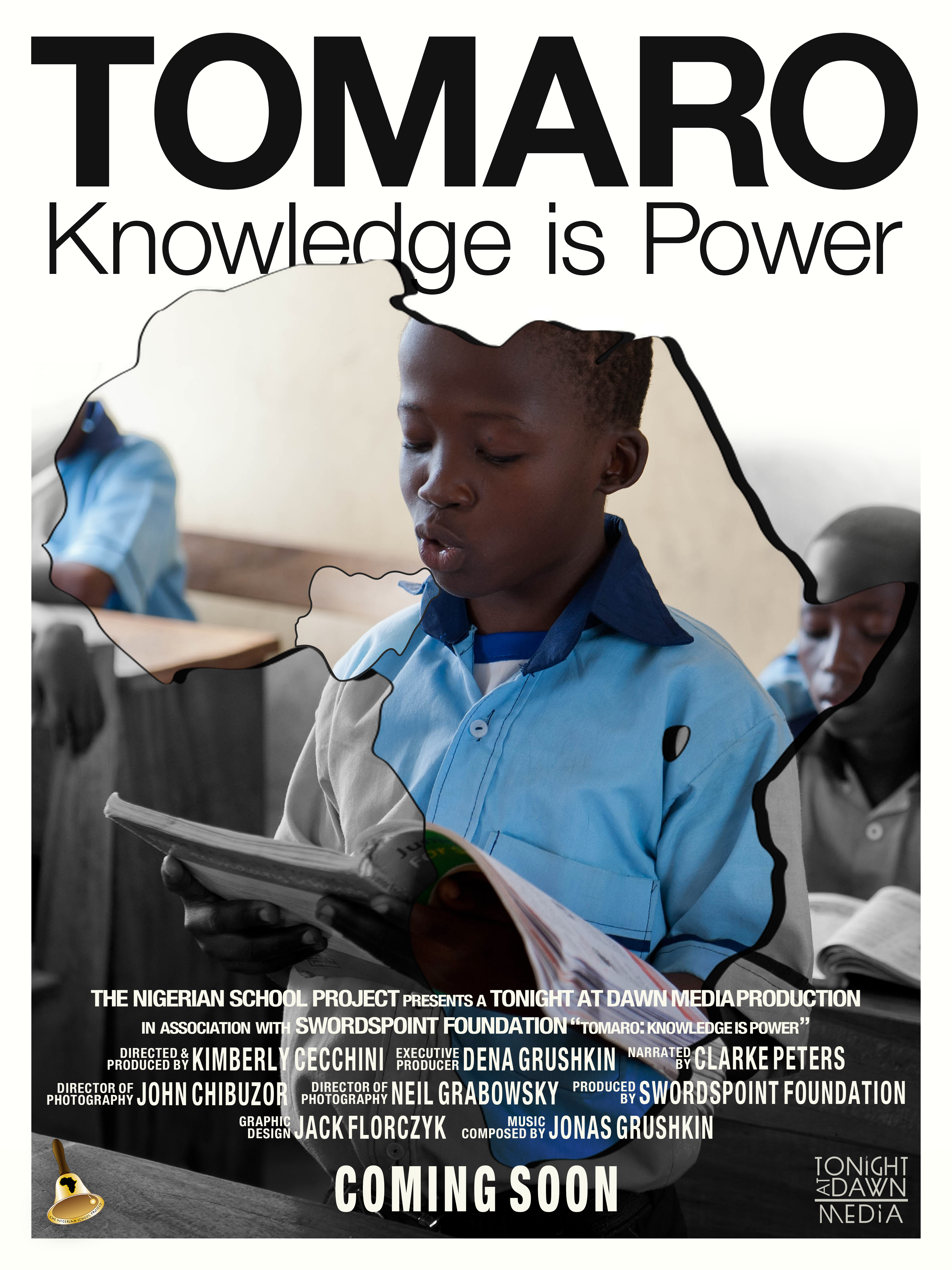 tomaro - knowledge is power poster